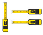 Top view of tape measurer