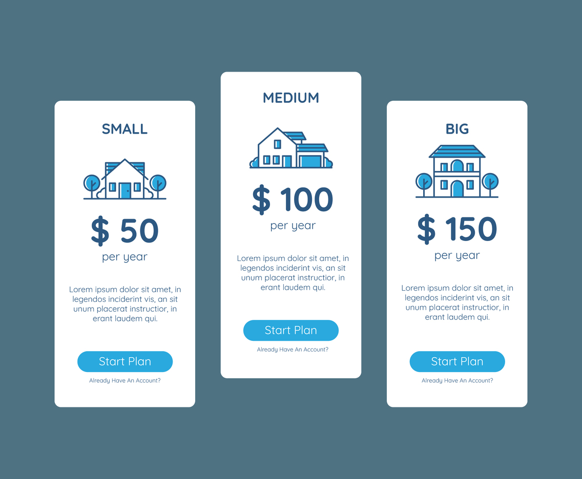 Pricing Table Home