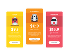 Pricing Table Train