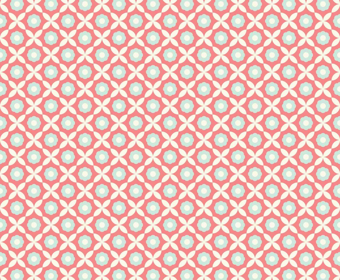Funky Retro Pattern Vector