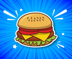 Summer Burger Vector