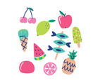 Cute Colorful Summer Foods