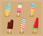 Various Ice Cream Vector