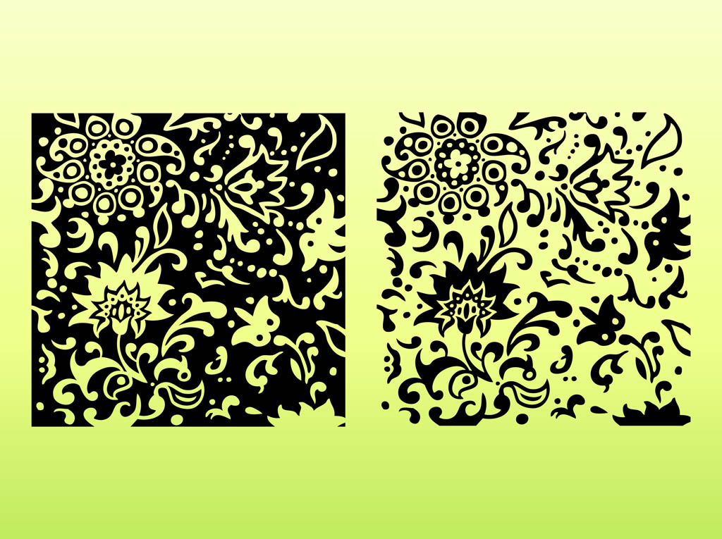Decorative Floral Tiles
