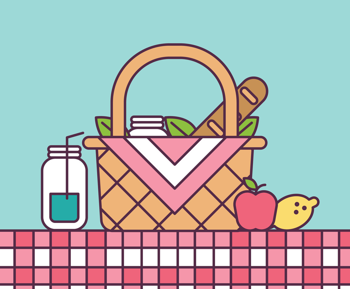 Outlined Picnic