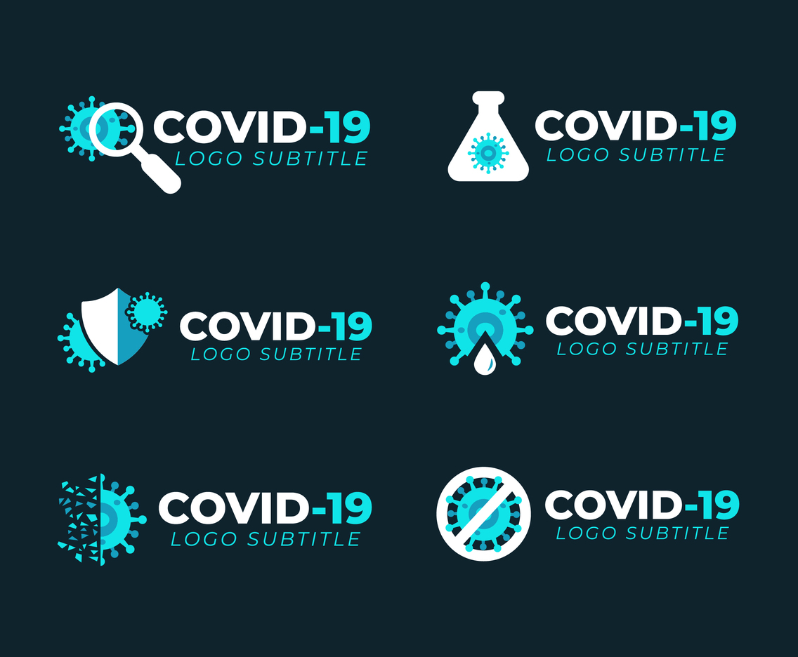 Covid-19 Logo Templates Pack