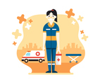 Female Ambulance Driver Design