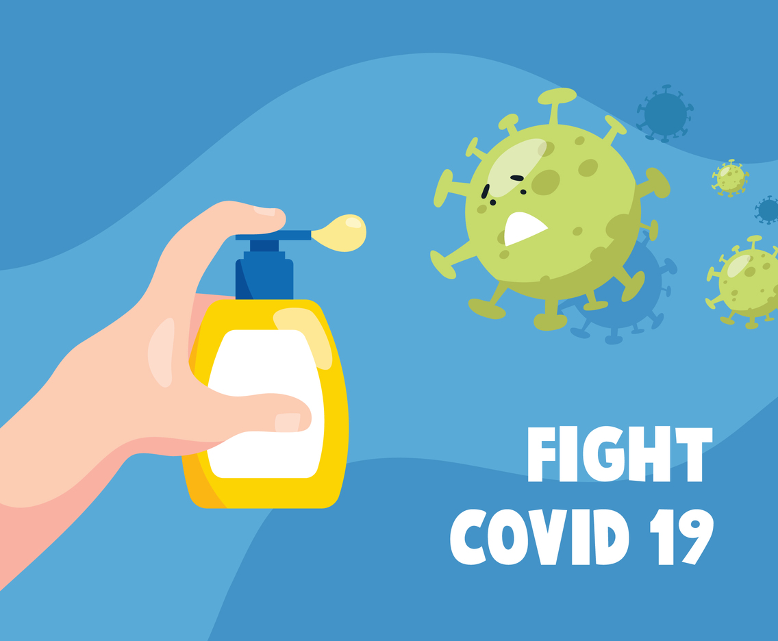Fight Covid-19 with Hygiene Habits