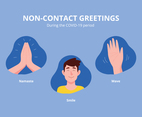 Non Contact Greeting Options