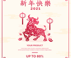 Chinese New Year Marketing Kit Promotion Template