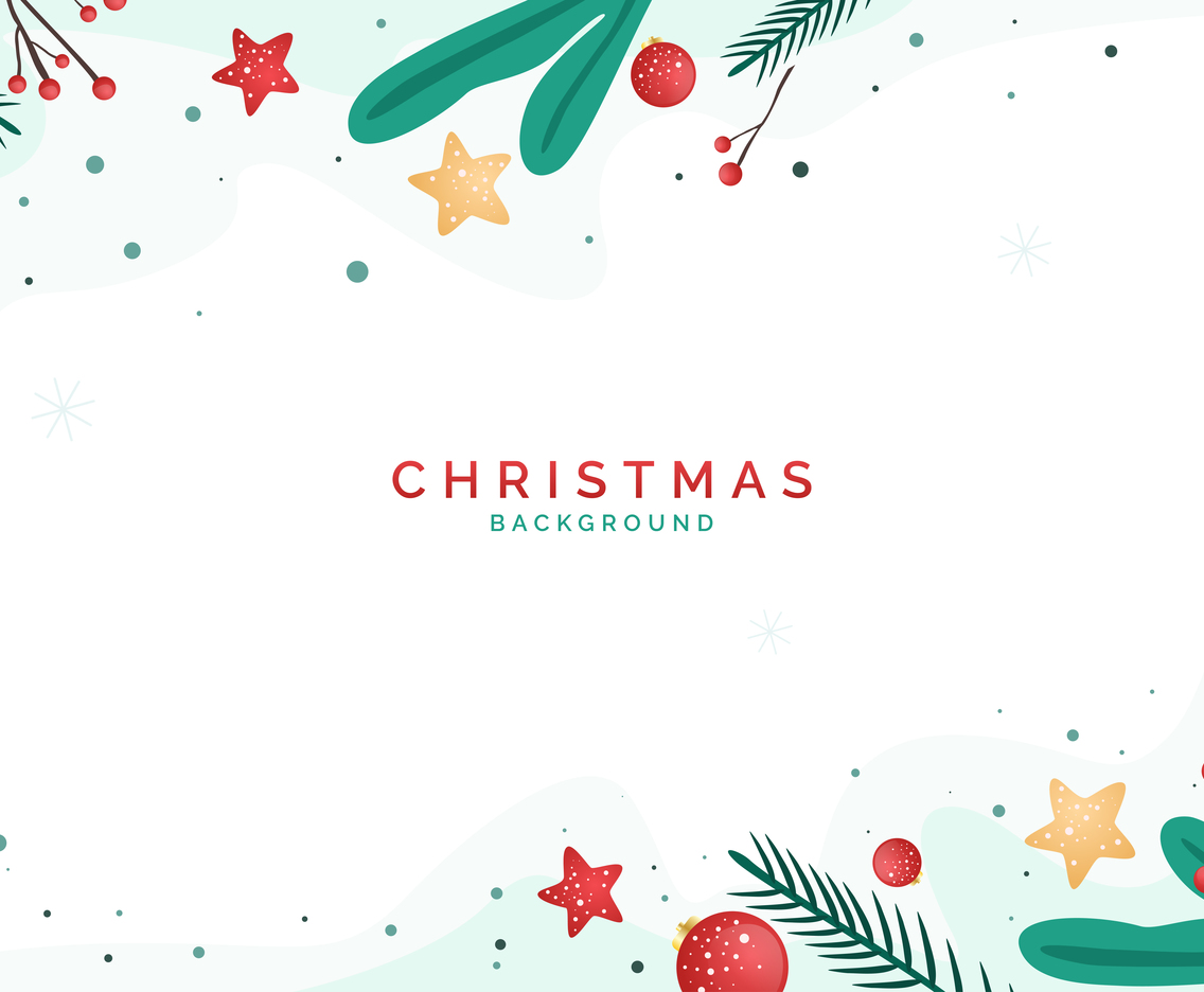 Simple and Clean Christmas Background