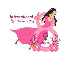 Women Celebrate Women's Day March 8th