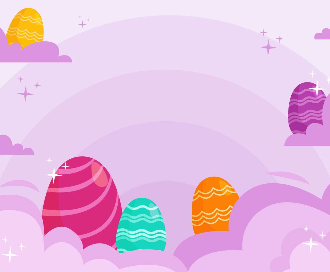 Cute Easter Celebration Background
