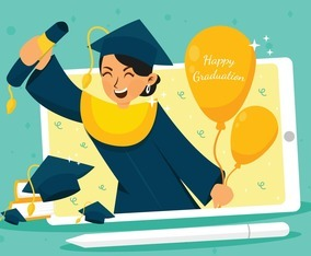 Online Graduation Ceremony Using Tab