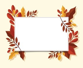 Autumn Background with Different Kind of Leaves