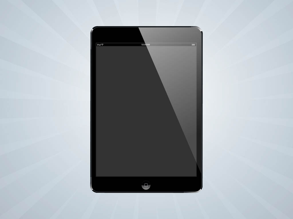 vector i pad mini vector art amp graphics freevectorcom