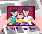 Photo Frame to Commemorate Parents Day Celebration