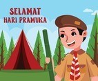 Scouting Day in Indonesia