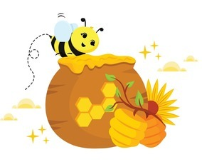 Honey Bee Protection Concept