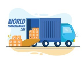 Truck Loading Aid to Celebrate Humanity Day