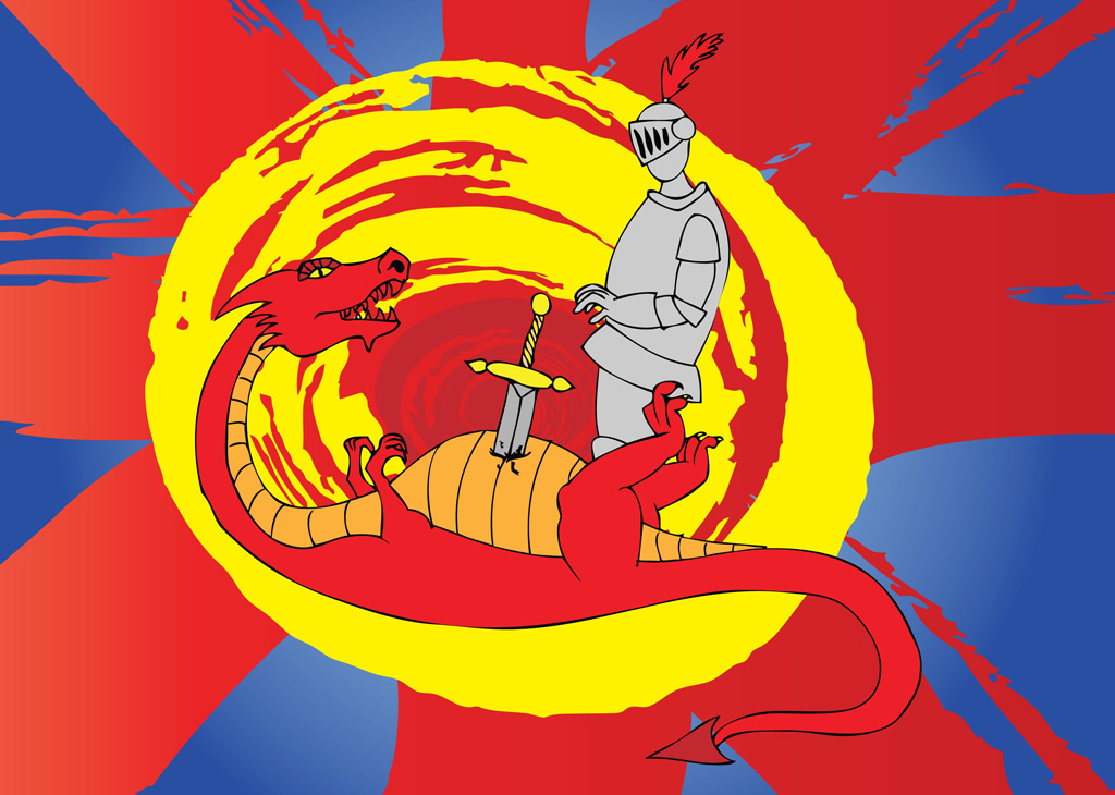 Saint George Vector