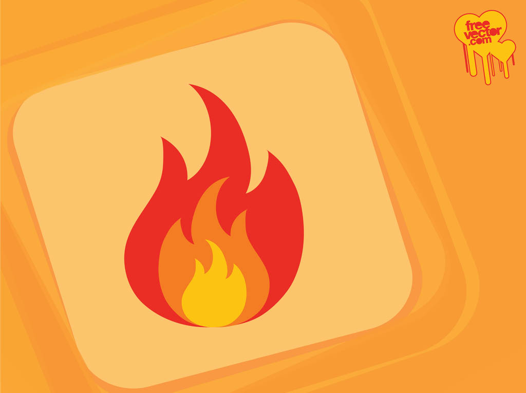 Free Fire Graphics: Fire Icon Vector Art & Graphics