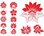 Blooming Flowers Graphics