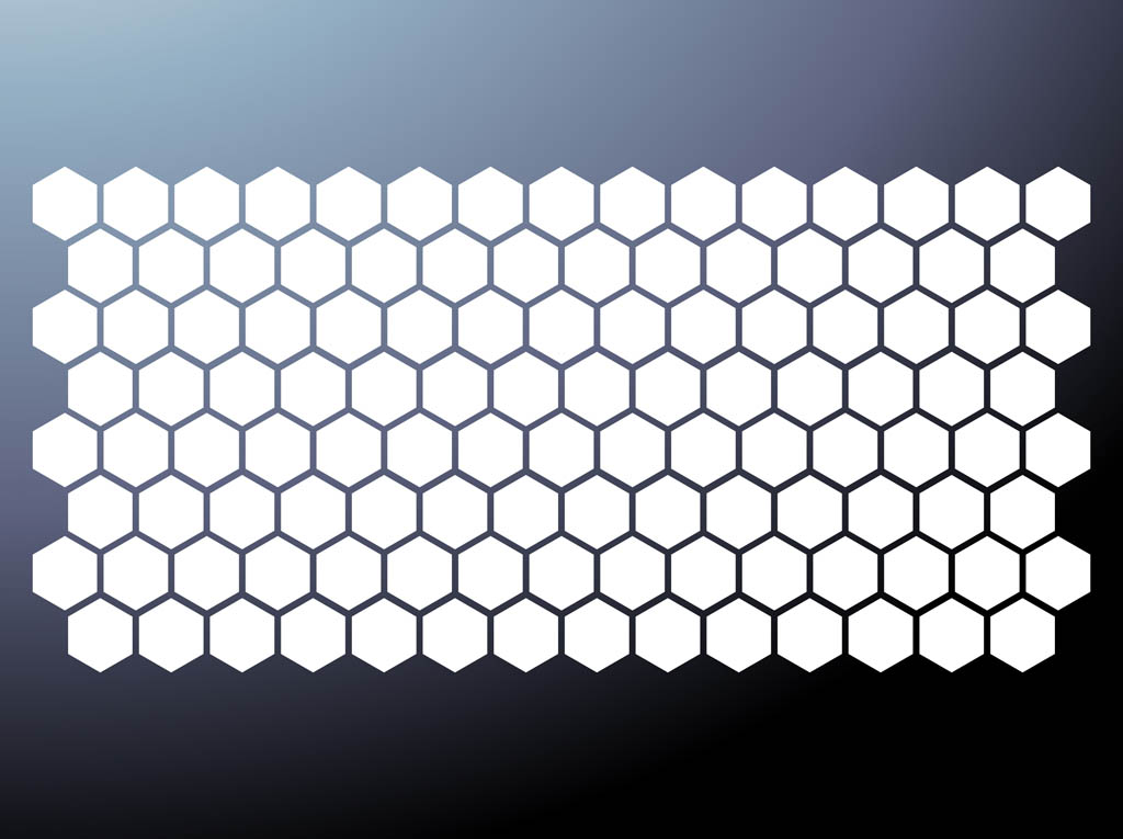 Honeycomb Pattern Vector Vector Art & Graphics