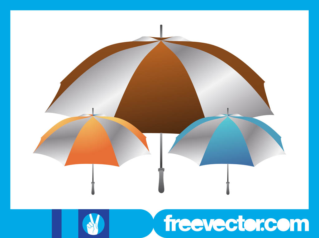 Umbrellas Layout