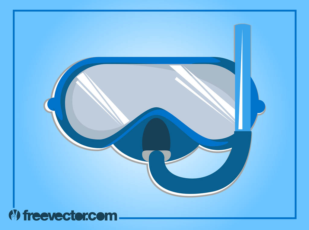 Swimming Goggles Vector Swimming Goggles Vector