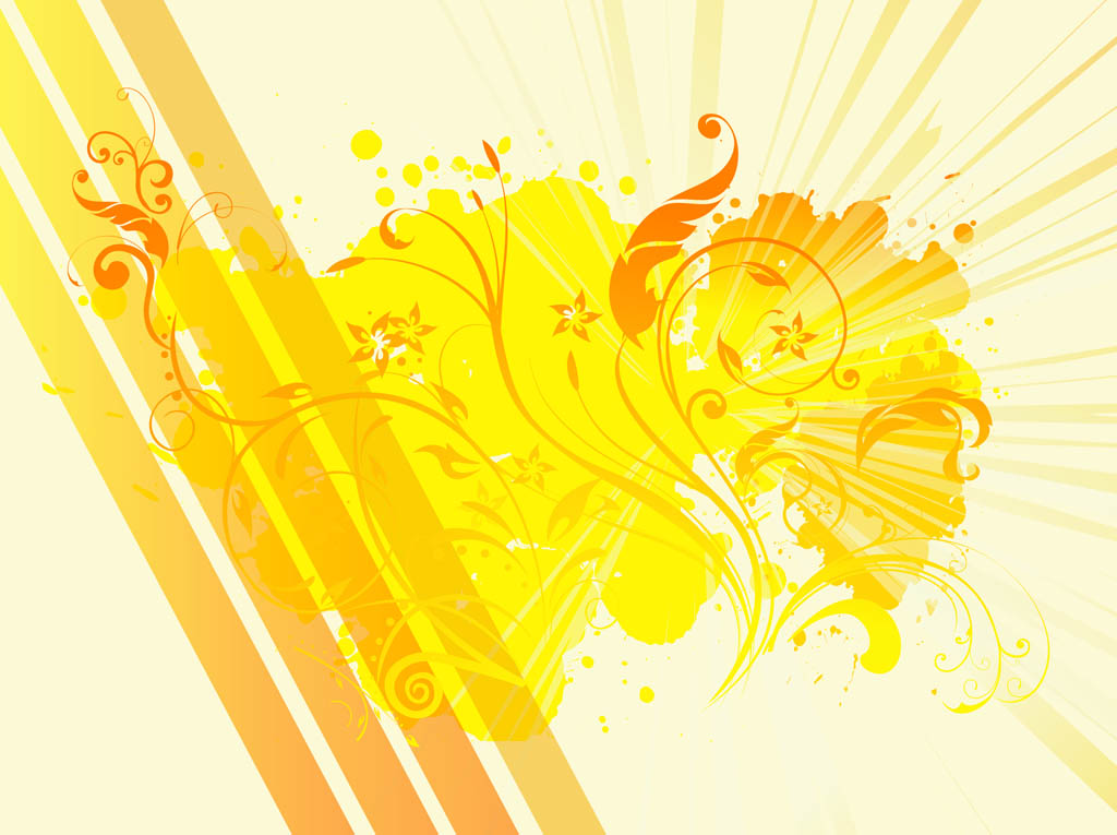 Art Background Designs : Abstract floral background design vector art graphics