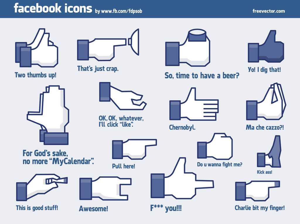 Cool Facebook Icons