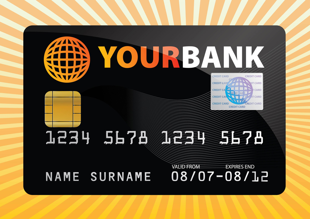 Free Credit Card Vector