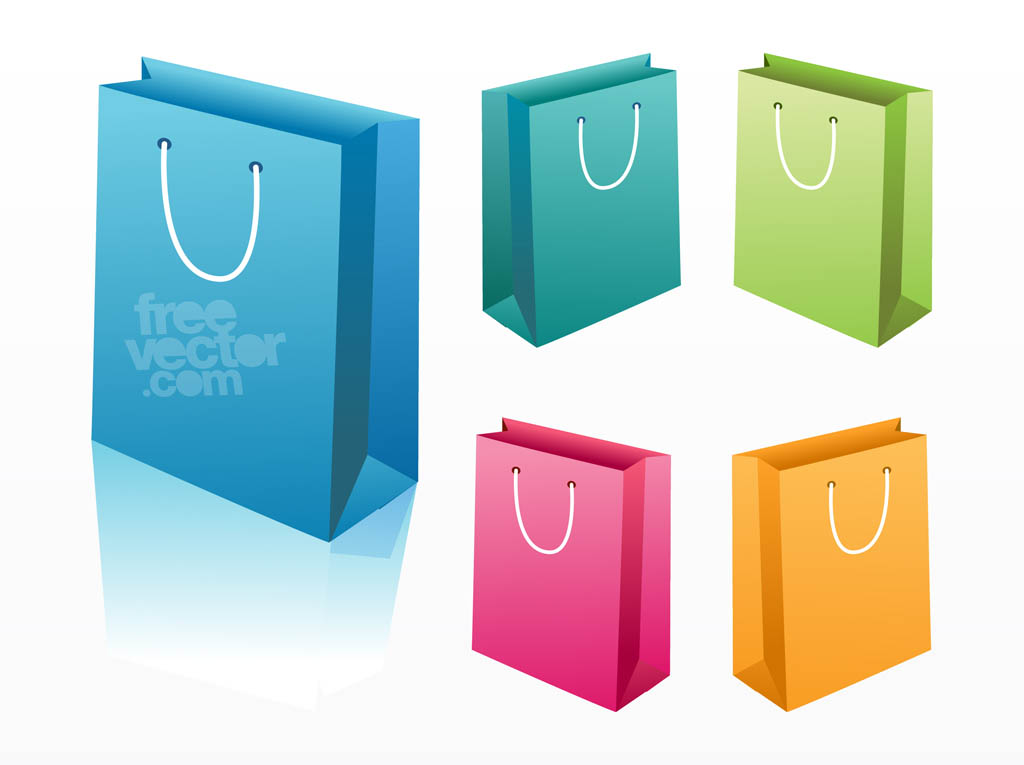 Shopping Bags Vector Art & Graphics | freevector.com