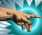 Hand Vector Graphics