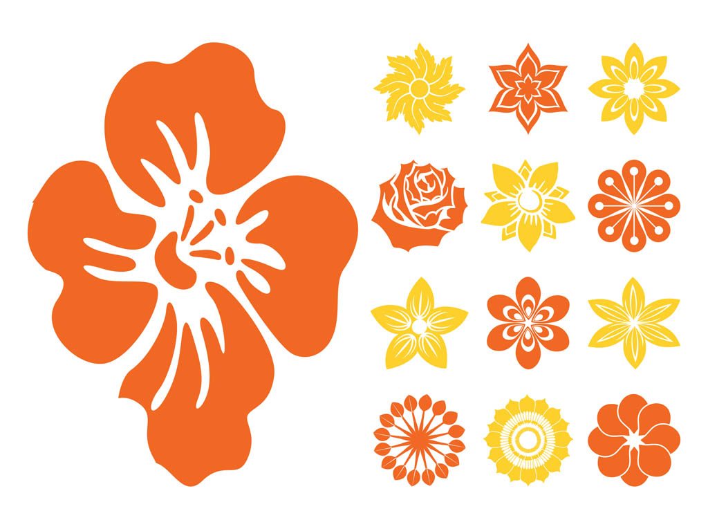 Flower Blossoms Icons