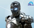 Chromed Iron Man Torso