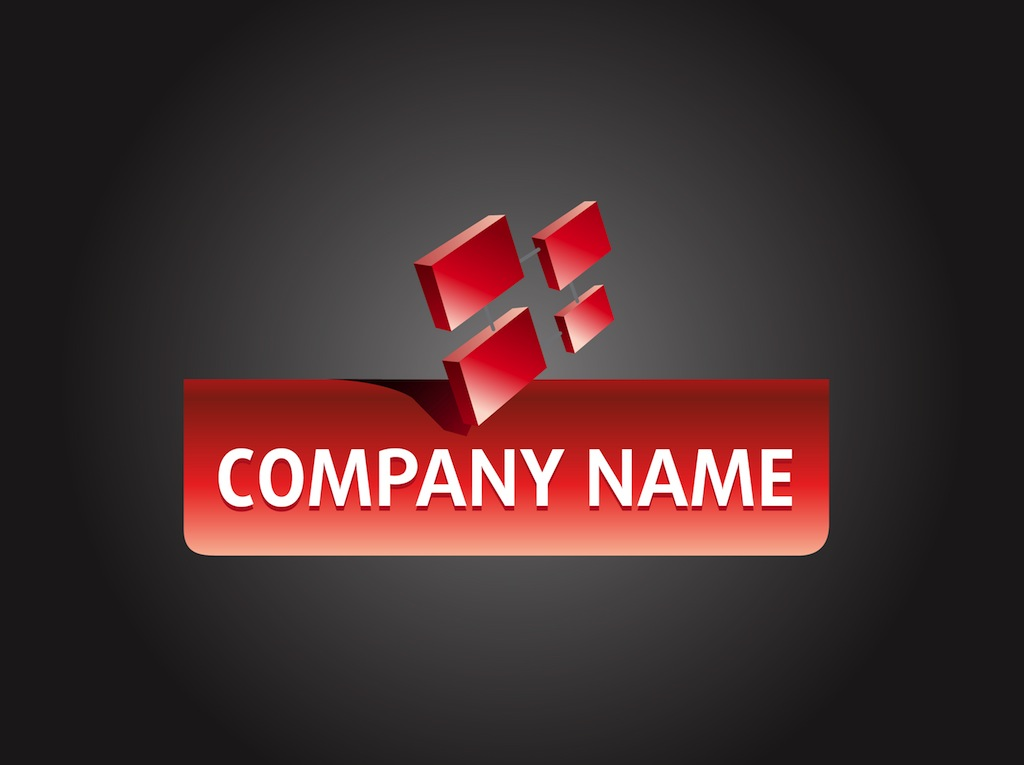 Company logo design vector art graphics for Designing company