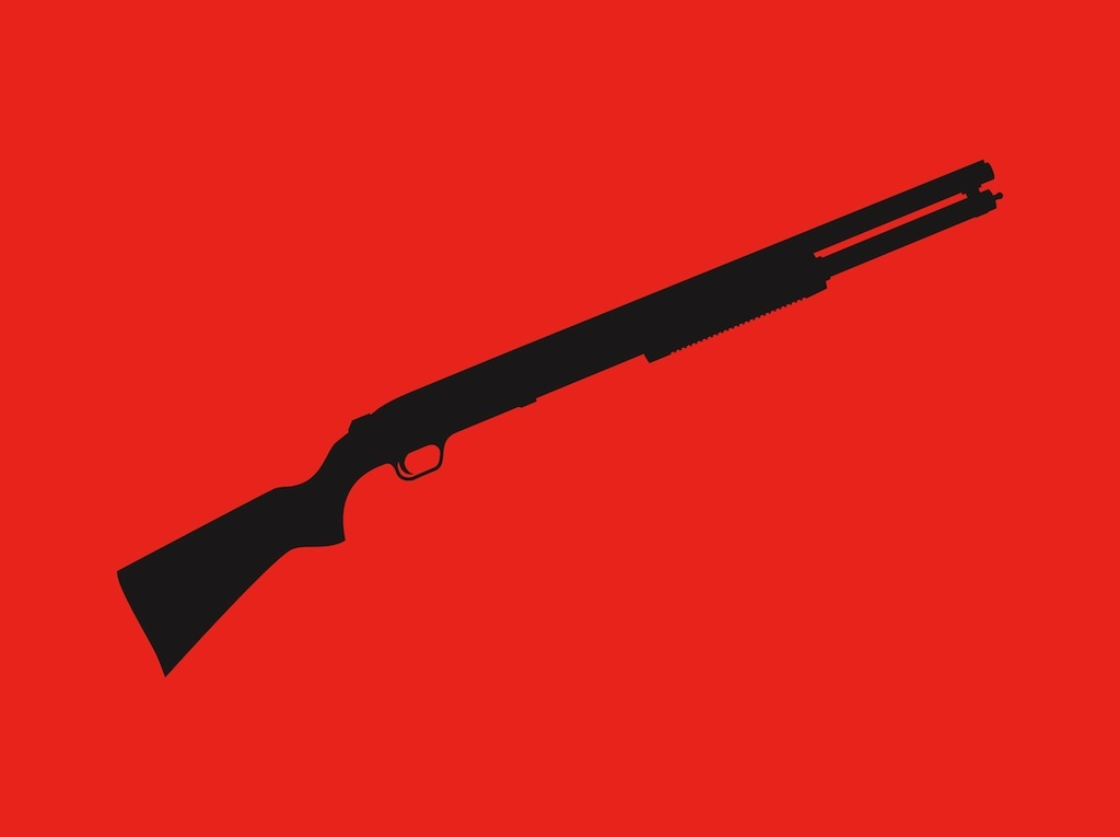 Rifle Silhouette Vector Art & Graphics | freevector.com
