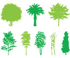 Trees Silhouettes Graphics