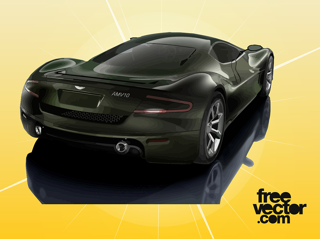 Aston Martin AMV10 Graphics