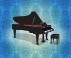 Grand Piano Background