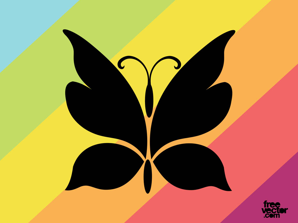 Butterfly Silhouette Graphics