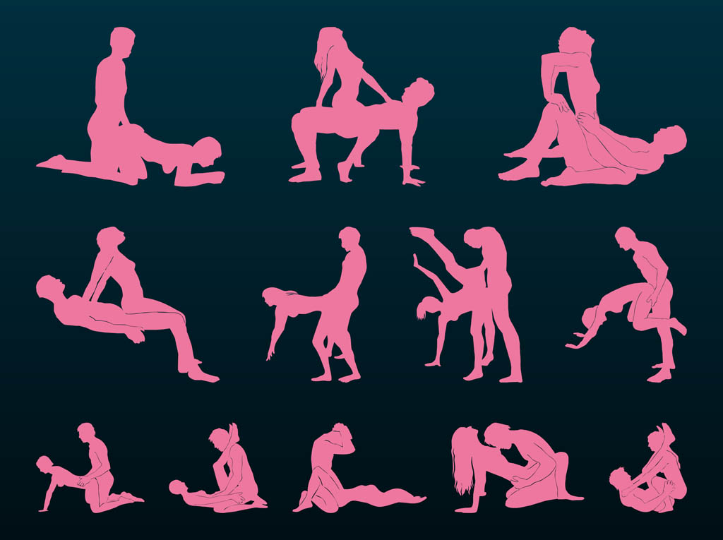 Sex Positions Silhouettes