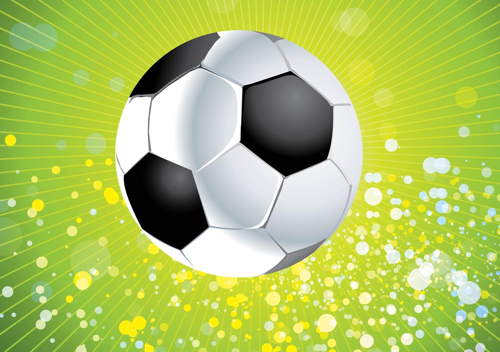 vector football soccer ball clipart sports background ai freevector fantasy graphics balls elements svg graphic clip leather file silhouette vecteezy