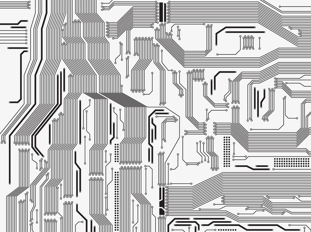 Circuit Board Vector Vector Art & Graphics | freevector.com