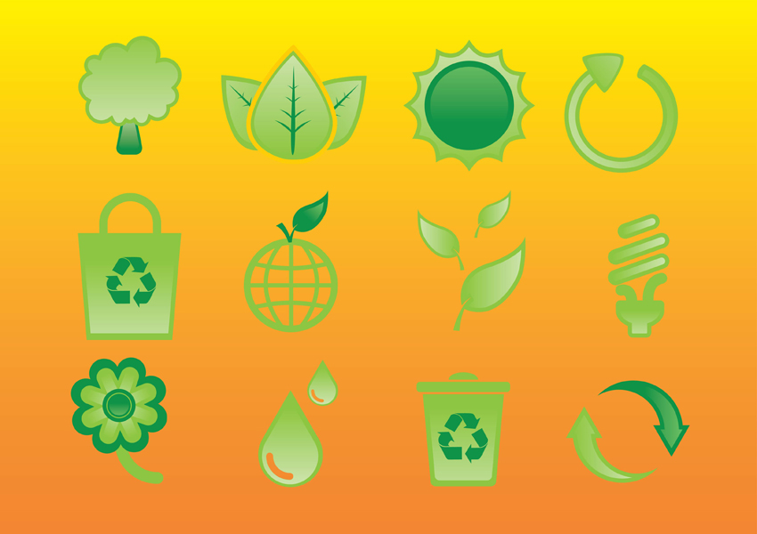 Glossy Nature Icons