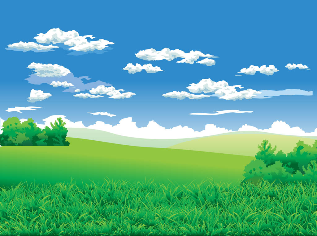 Landscape background vector art graphics - Free landscape backgrounds ...
