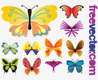 Butterflies Vectors