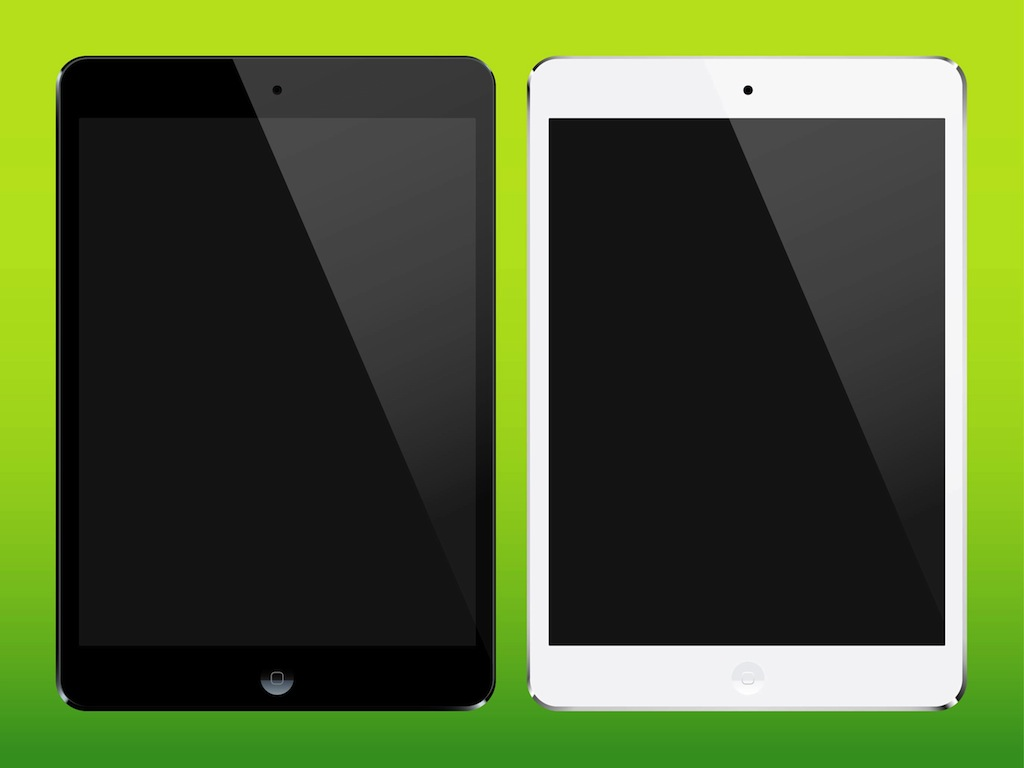 iPad Mini Vectors